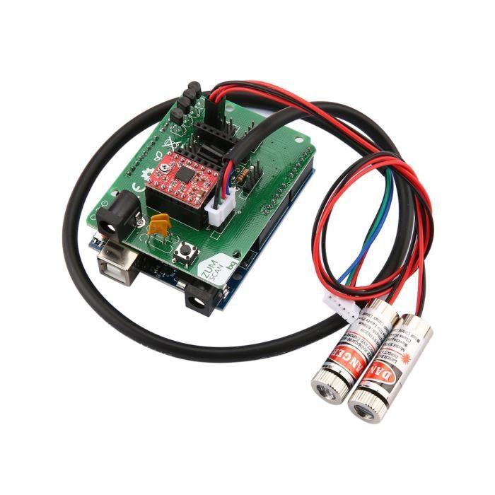 Kit Diy 3D laser Scanner e haute précision pour Ciclop Printer