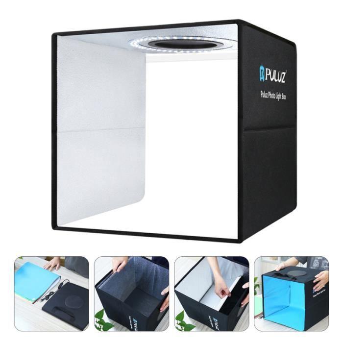 1 Set Photo Box Kit Tente de tir portable pour Studio à domicile boite de lumiere studio photo - eclairage