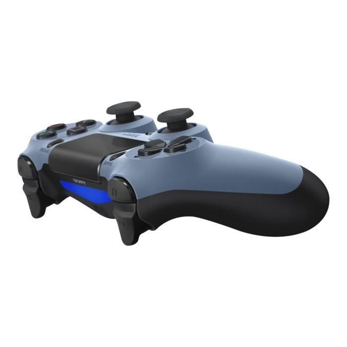 Sony DualShock 4 Gamepad sans fil Bluetooth bleu gris pour Sony PlayStation 4