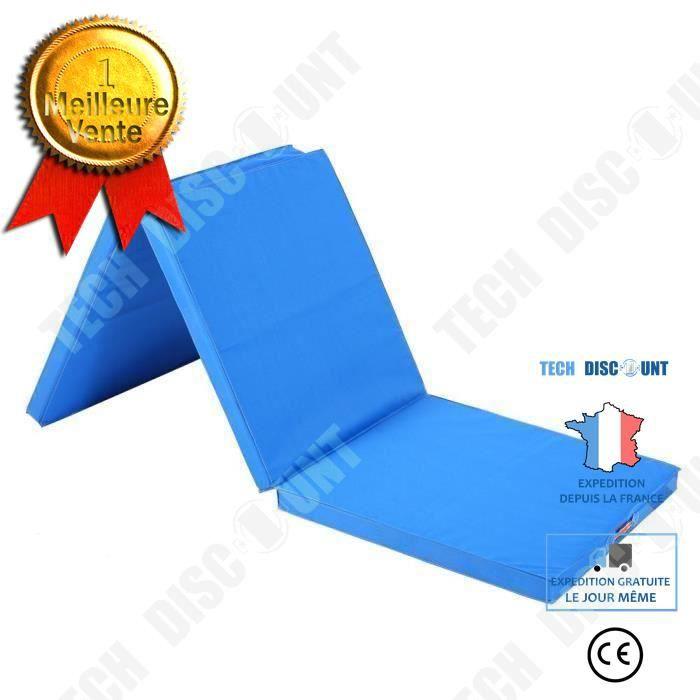 TD® Tapis pliant Gymnastique/ Exercice Yoga Fitness / Panneau Pliant / Épais et Résistant