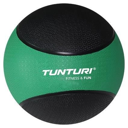 TUNTURI Medicine Ball - 2kg - Vert / Noir