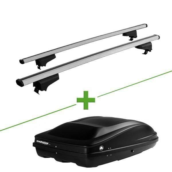 Pack barres et coffre de toit WABB WABB Rail + Wabb M pour Chevrolet Trax 5 portes - 3665597166842
