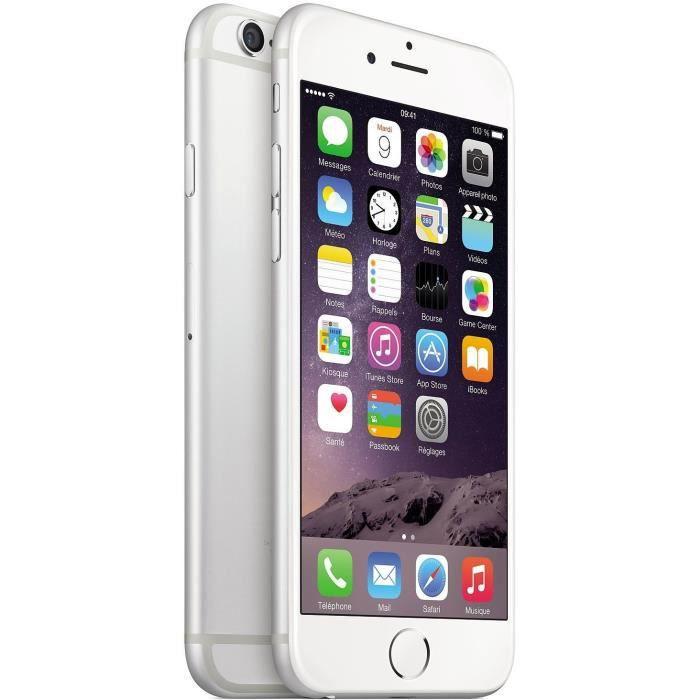SMARTPHONE Apple iPhone 6 16Go Argent Reconditionné - Comme N