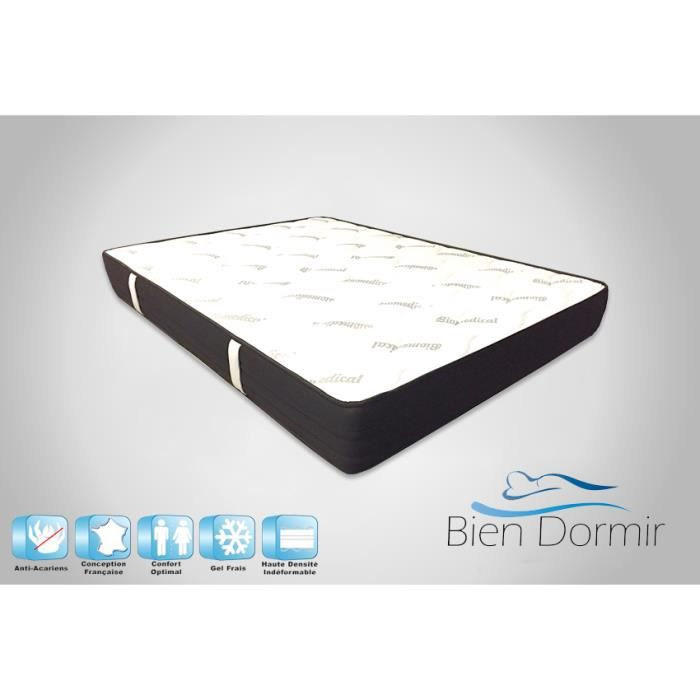 matelas 160 x 200 cm latex 20kgs 22cm achat vente matelas cdiscount. Black Bedroom Furniture Sets. Home Design Ideas
