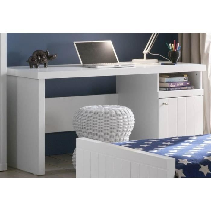 bureau blanc laqu enfant cleo blanc achat vente bureau bureau blanc laqu enfant cleo. Black Bedroom Furniture Sets. Home Design Ideas