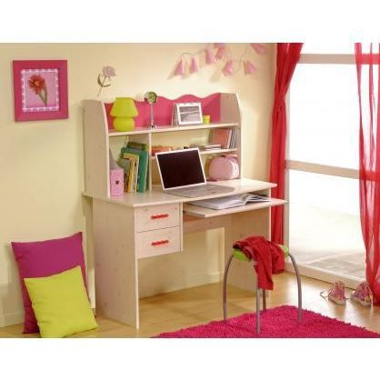 bureau enfant lola achat vente bureau bureau enfant lola cdiscount. Black Bedroom Furniture Sets. Home Design Ideas