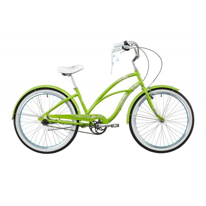 electra bike hawaii 3i cruiser femme vert achat. Black Bedroom Furniture Sets. Home Design Ideas