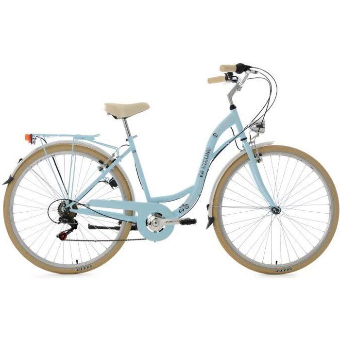Standard De Remplacement Vélo Guidon Poignées Bleu clair S