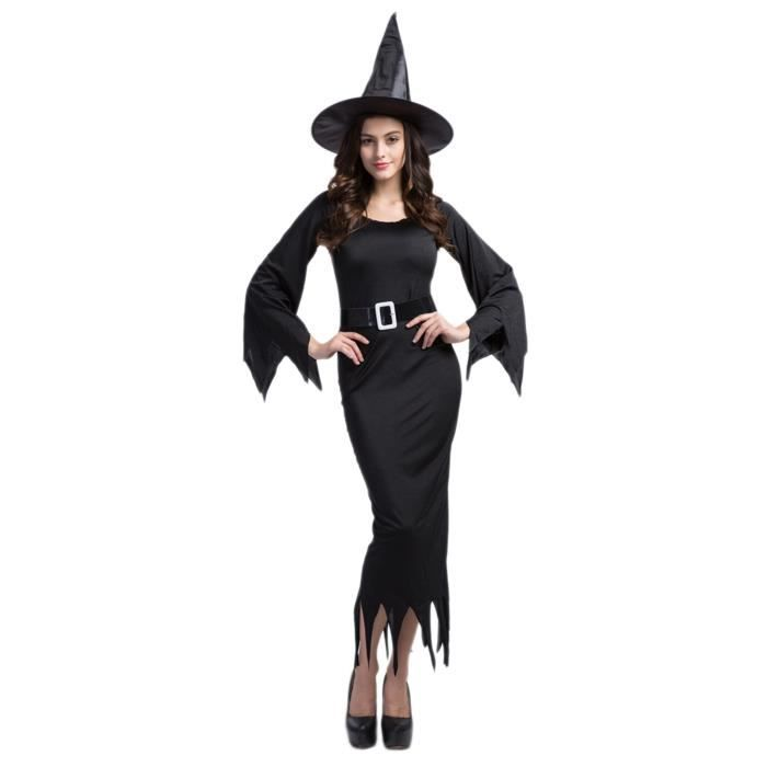 smile d guisement halloween femme sexy robe longue cosplay costume sorci re fant me achat. Black Bedroom Furniture Sets. Home Design Ideas