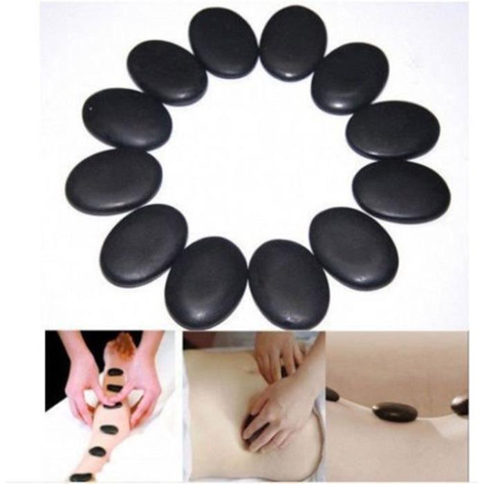 GOMMAGE CORPS Kit hot stone – 7/15 pierres chaudes massage Basal