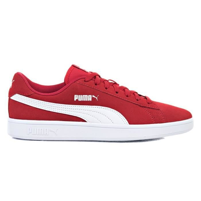 Chaussures Cdiscount Vente Basket Rouge V2 Achat Puma Smash VMpUzS