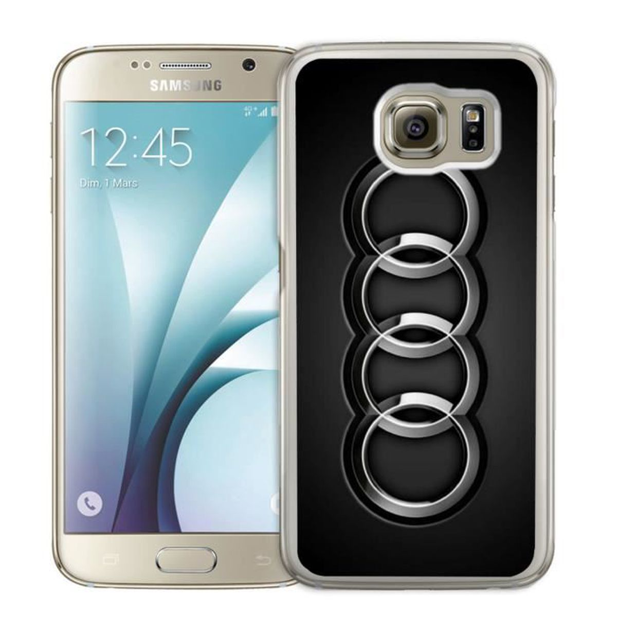 coque metalique galaxy s6