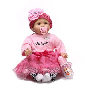 POUPON Réel bébé poupée 55cm nouveau-né poupée enfants fi