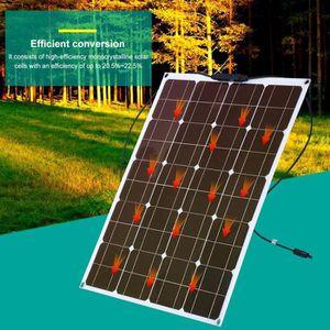 KIT PHOTOVOLTAIQUE Léger monocristallin de panneau solaire, Chargeur