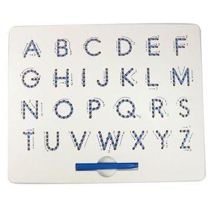 CONSOLE ÉDUCATIVE Tableau d'aimant de nombre - lettre pour le compri