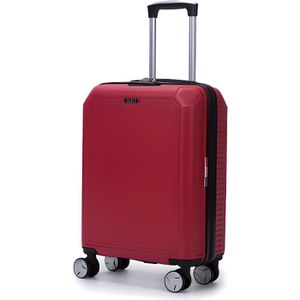 VALISE - BAGAGE LYS - Valise Cabine rigide rouge 55cm ultra légère