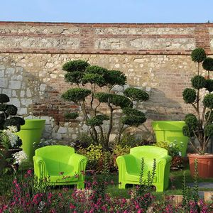 Salon Olga 3 vert pomme - Achat / Vente salon de jardin ...
