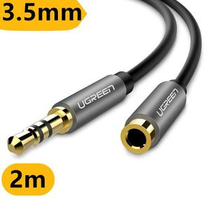 CÂBLE TV - VIDÉO - SON 2m Câble Extension Audio Rallonge 3.5mm Jack Mâle