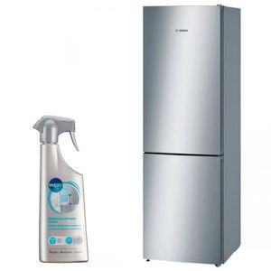 RÉFRIGÉRATEUR CLASSIQUE BOSCH Réfrigérateur frigo combiné inox 324L A++ Fr