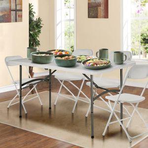 TABLE DE CAMPING COSTWAY Table de Camping Pliante en Acier et Plast