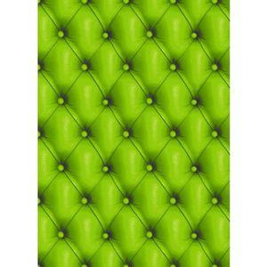 Kit papier créatif Feuille Decopatch n°618, Sofa en cuir Vert, Papier