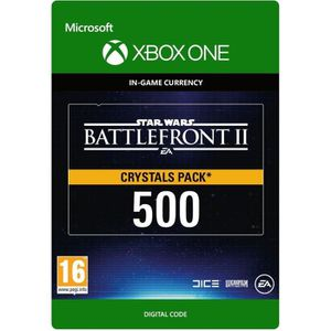 EXTENSION - CODE DLC Star Wars Battlefront II: 500 Crystals pour Xb