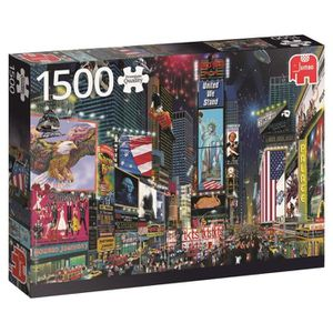 CASSE-TÊTE Jumbo Premium Puzzle Collection 'times Square, New