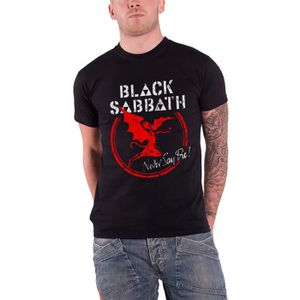 T-SHIRT black Sabbath T Shirt Never say die nouveau offici
