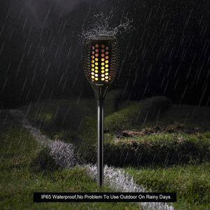 LAMPE DE JARDIN  Torche de Jardin Torche Solaire Lampes d'Eclairage