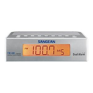 Radio réveil Sangean RCR-5 Radio réveil digitale Tuner AM - FM