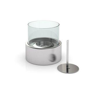 CHEMINÉE Cheminée de table ronde au Bio-éthanol - 16 x 15 c