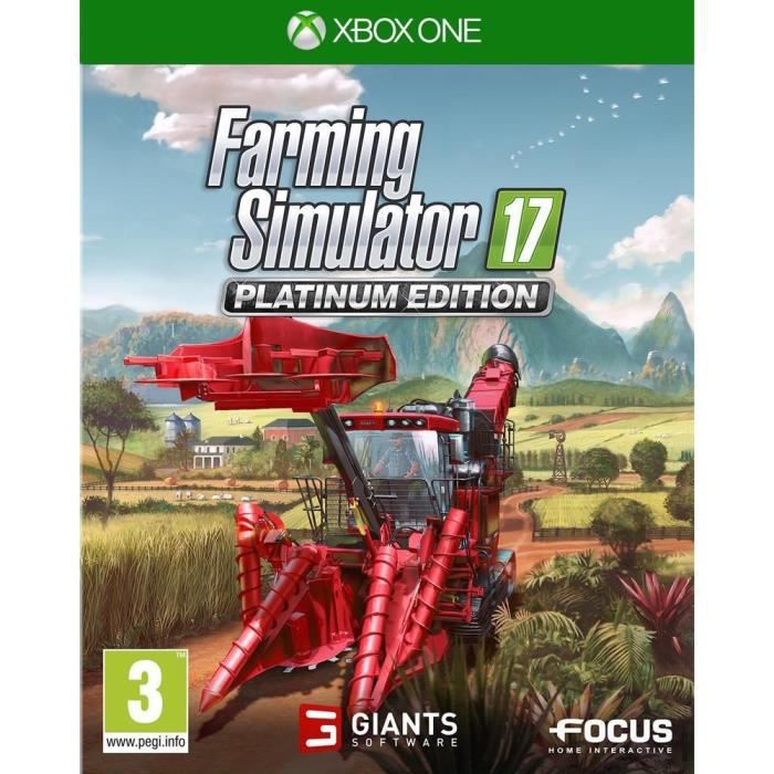 Farming Simulator 17 Edition Platinium Jeu Xbox One