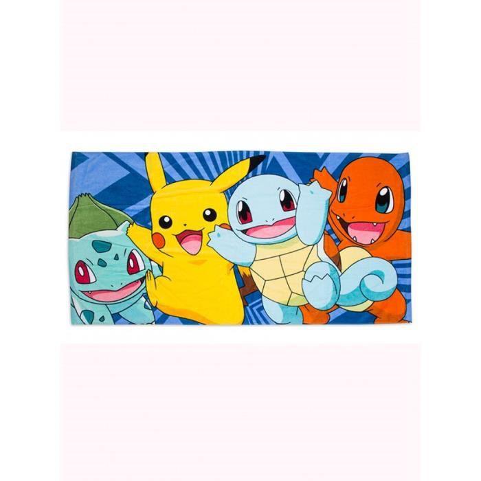 Serviette de plage Pokemon