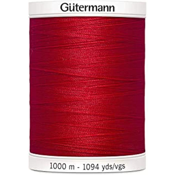 Coudre Tous Les Fil De Polyester, Rouge Carmin 0156, 1000 M
