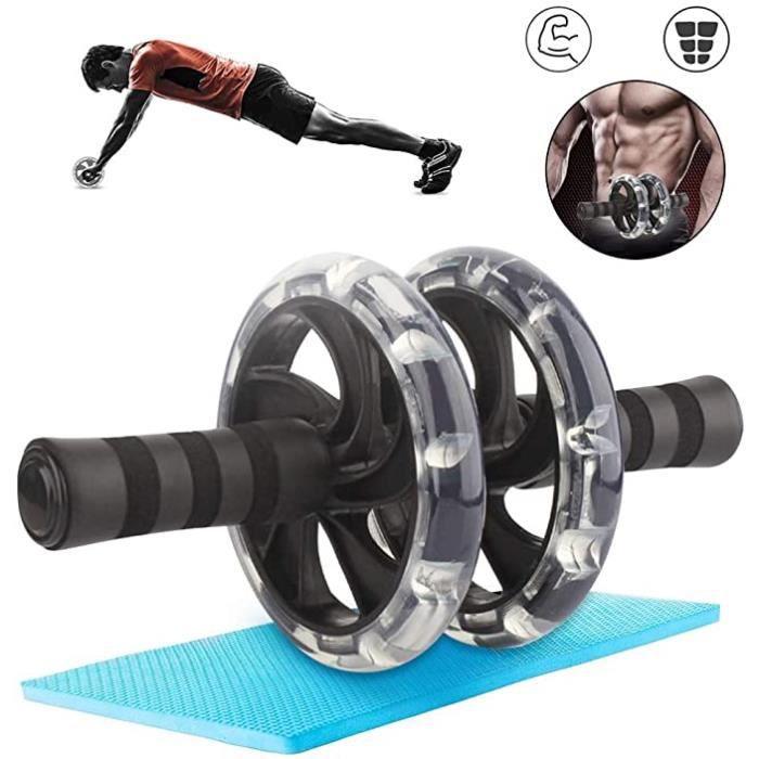 Roue de Fitness Abdominale,Roues AB,Roue Abdominale Homme,Roue Abdominale Exercice,Roue Abdominale entraînement,AB Roller Wheel Abdo