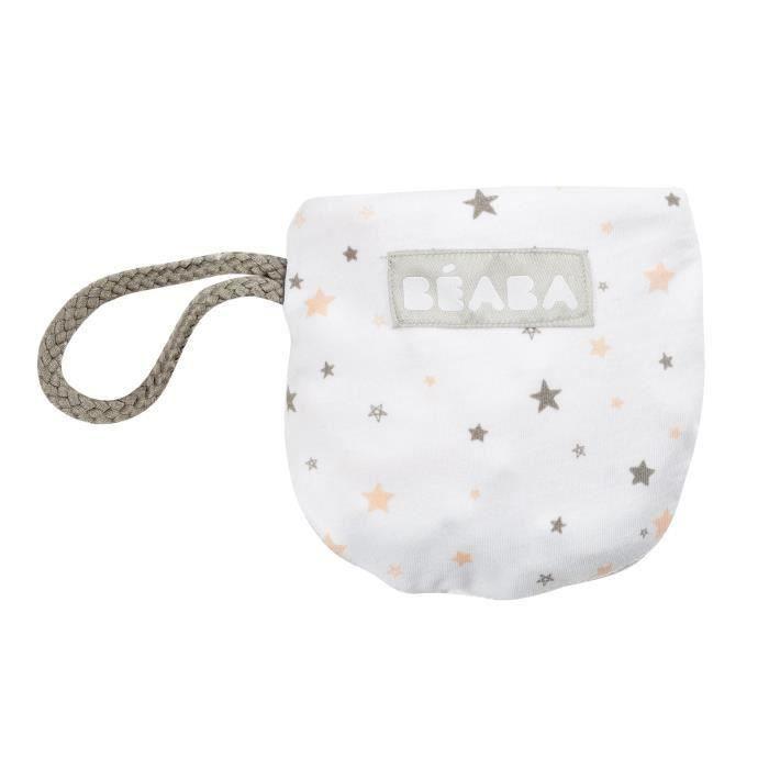 BEABA Bavoir coton étoiles (Lot de 2)