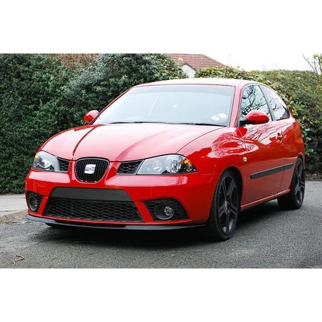 Pour Seat Ibiza III 6L Lèvre Lame Inférieure Jupe De Pare-Choc Avant Cupra 02-08