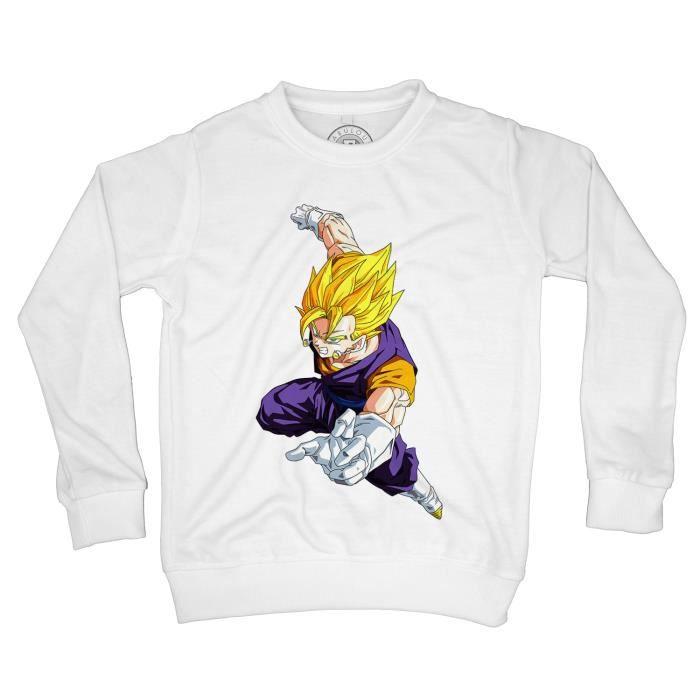 Sweat-Shirt Enfant Dragon Ball Z anime manga japan fusion vegito