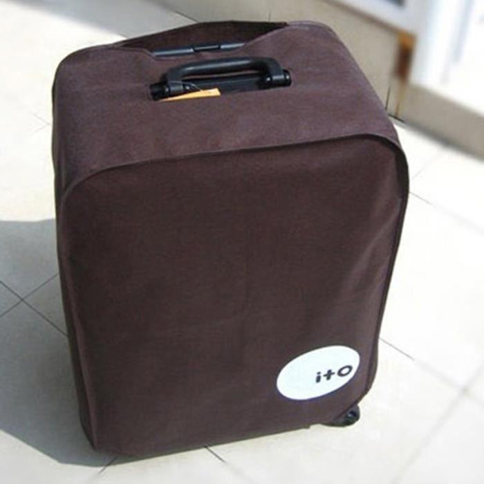 Protecteur de couverture de bagage étanche à la poussière et pliable pour valise VELO DE VILLE - BEACH CRUISER - VELO HOLLANDAIS