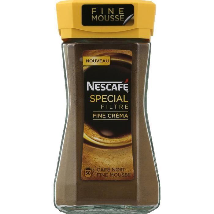 Café instantané spécial crema 100g NESCAFE