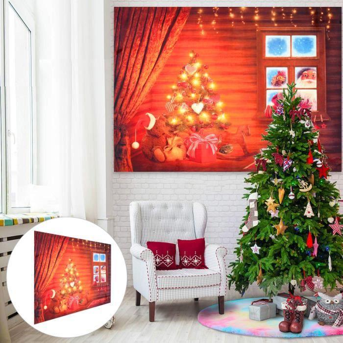 1pc Studio de Noël Prop Mode Toile de toile de fond pour la barre fond de studio studio photo - eclairage