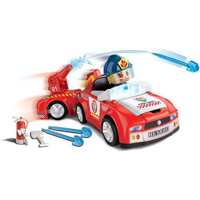 Pinypon Action - Le véhicule de pompier - 1 figurine incluse