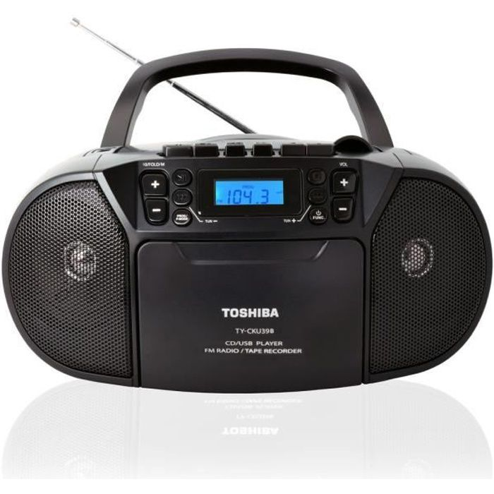 TOSHIBA Boombox CD-Bluetooth-Cassette