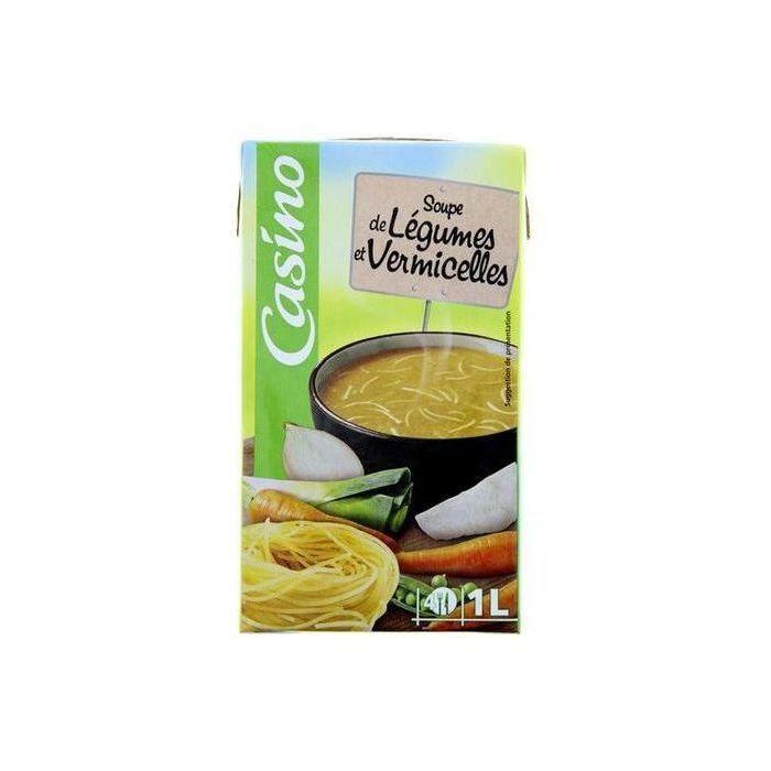 CASINO Soupe Légumes vermicelles - 1 L