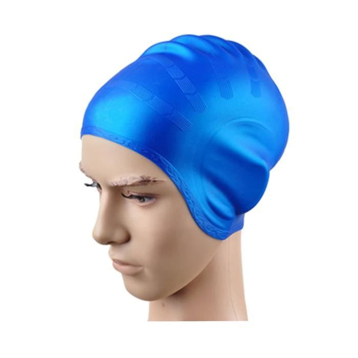 Bonnet piscine cheveux longs for Protege oreille piscine decathlon