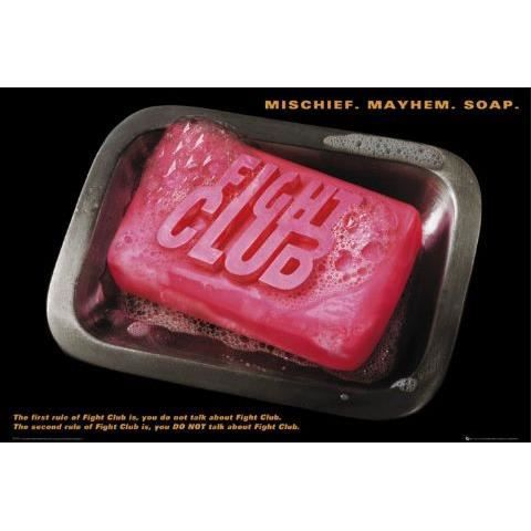 Fight Club Poster Soap