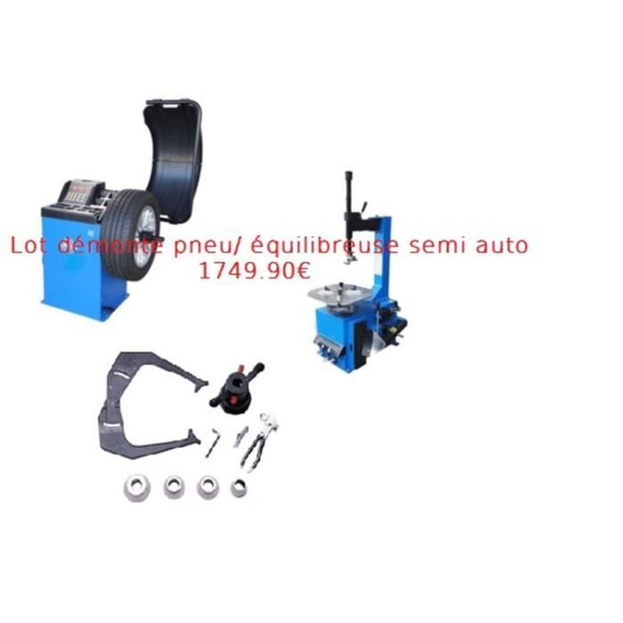 lot machine d monte a demonter pneu quilibreuse 220v 230v 230 220 volts v achat vente. Black Bedroom Furniture Sets. Home Design Ideas