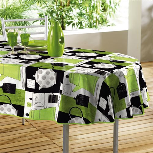 liste de cadeaux de lily f nappe ovale couteurs top moumoute. Black Bedroom Furniture Sets. Home Design Ideas