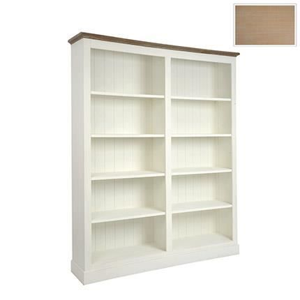 biblioth que 8 compartiments bois massif blanc achat vente biblioth que biblioth que 8. Black Bedroom Furniture Sets. Home Design Ideas