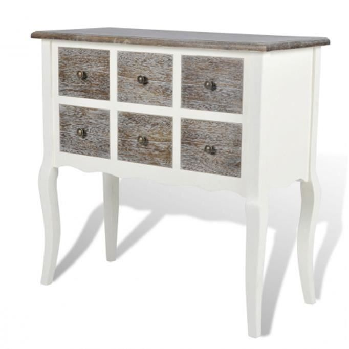 Commode console 6 tiroirs - Achat / Vente commode de chambre commode ...